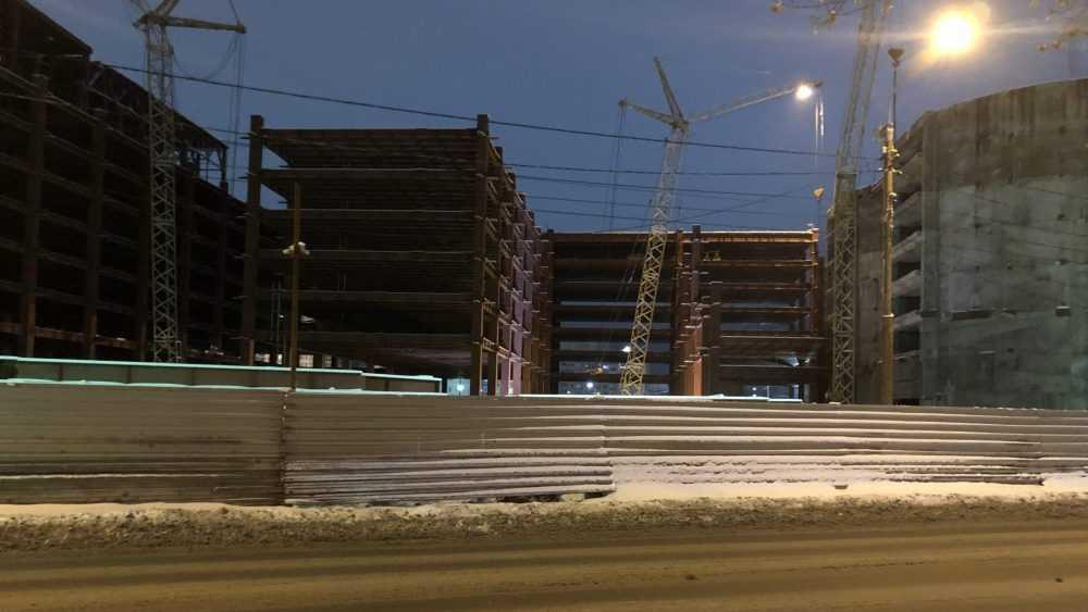 В Брянске ускорили строительство огромного ТРЦ «МегаГринн»
