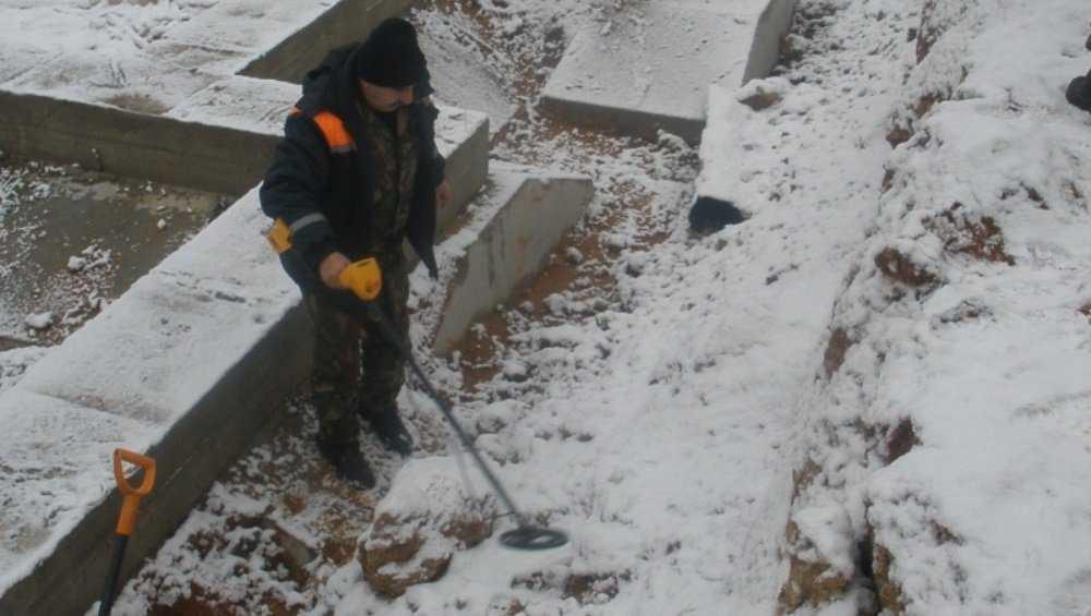 В Клинцах Брянской области на стройплощадке обезвредили мину