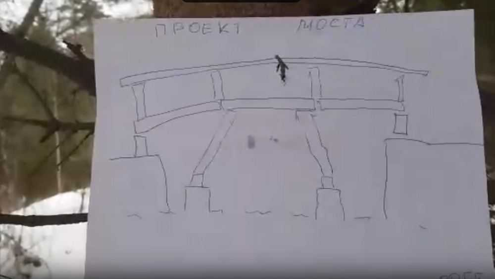 В Белых Берегов на болоте построят дорогу к месту возведения моста