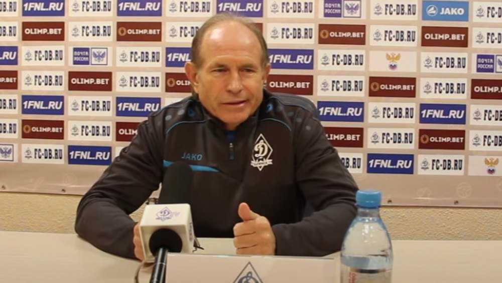 Главным тренером брянского «Динамо» пока станет Евгений Перевертайло