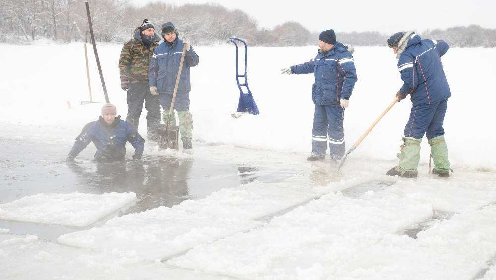 В Брянске подготовлены три места для крещенских купаний