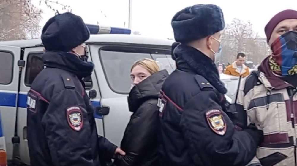 Появился ролик о брянской полиции при разгоне протестующих 23 января