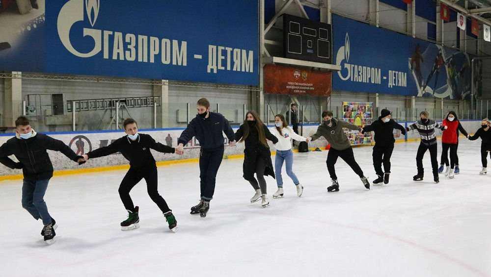 В Ледовом дворце Брянска отметили День студента