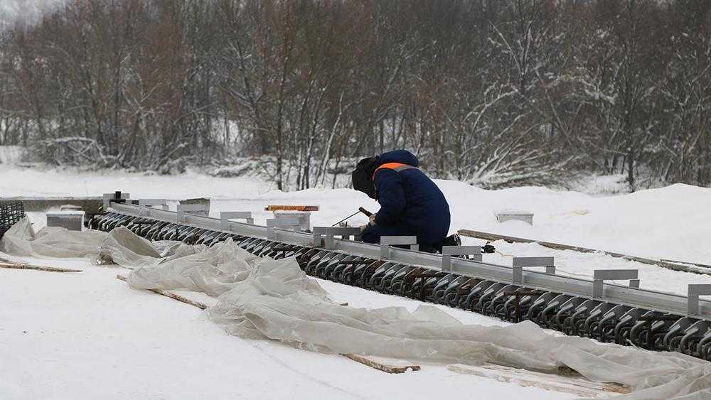 В Брянске на новом мосту объездной дороги приступят к очистным