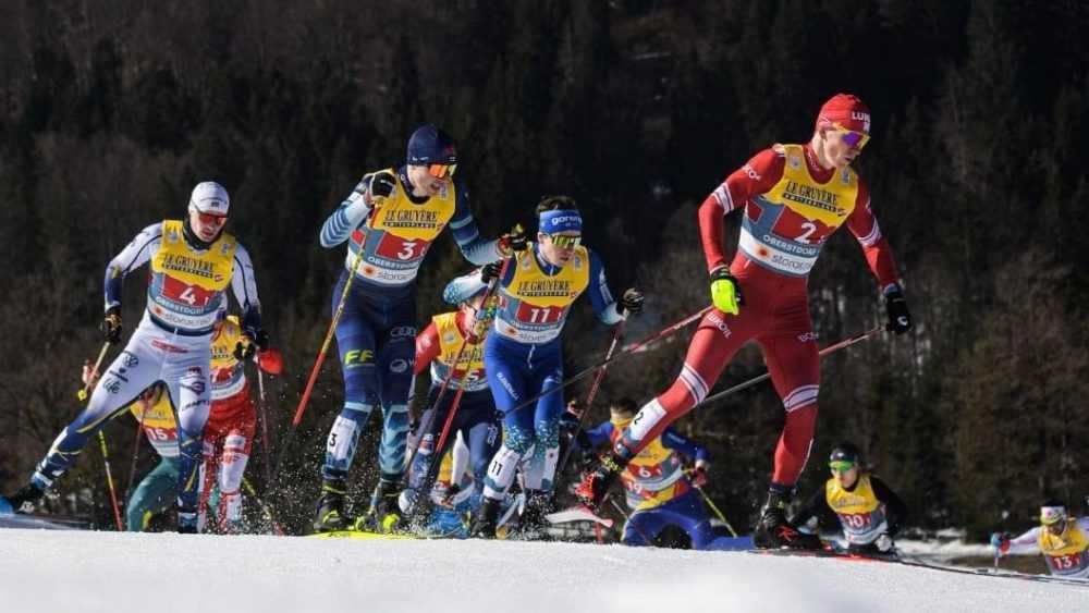 Брянец Большунов взял «бронзу» в командном спринте