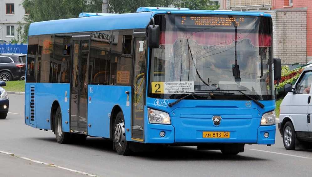 В Брянске с 27 февраля изменится расписание автобуса №2
