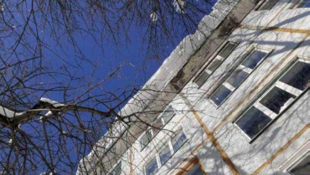 Жителей Брянска предупредили о снеге и сосульках на крышах