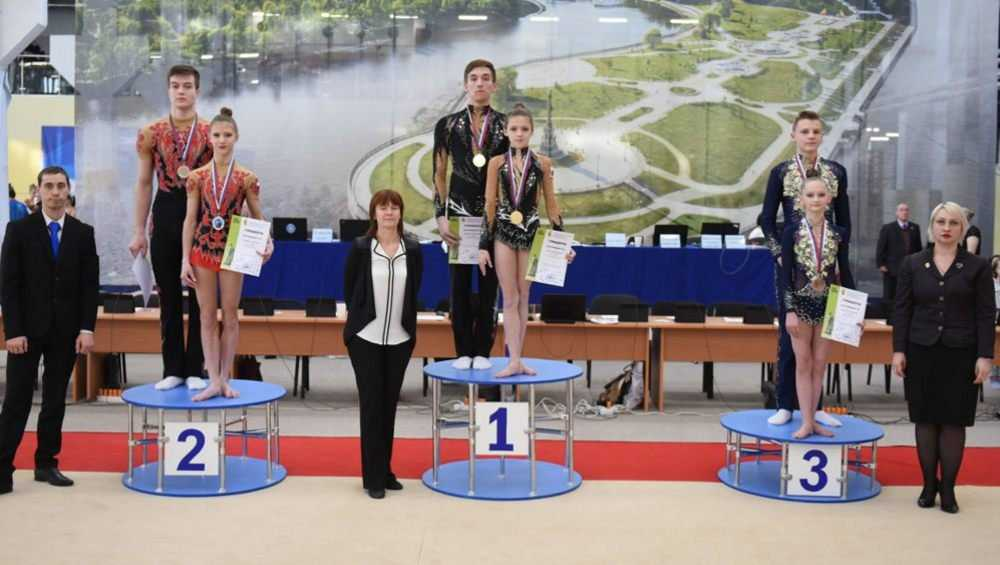 Акробатическая пара из Брянска взяла «золото» чемпионата ЦФО