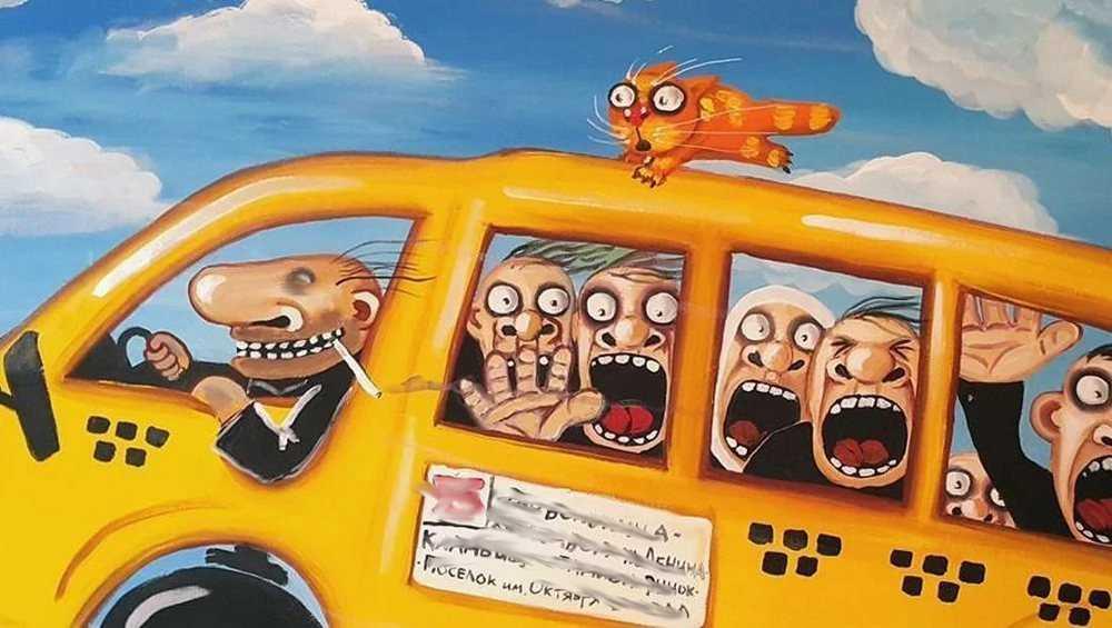 Жителей брянской деревни напугал засыпающий на ходу водитель автобуса