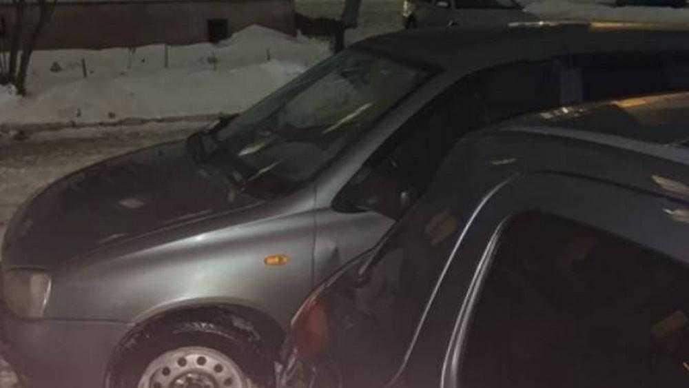 В Брянске водитель «Калины» отомстил захватчику его парковочного места