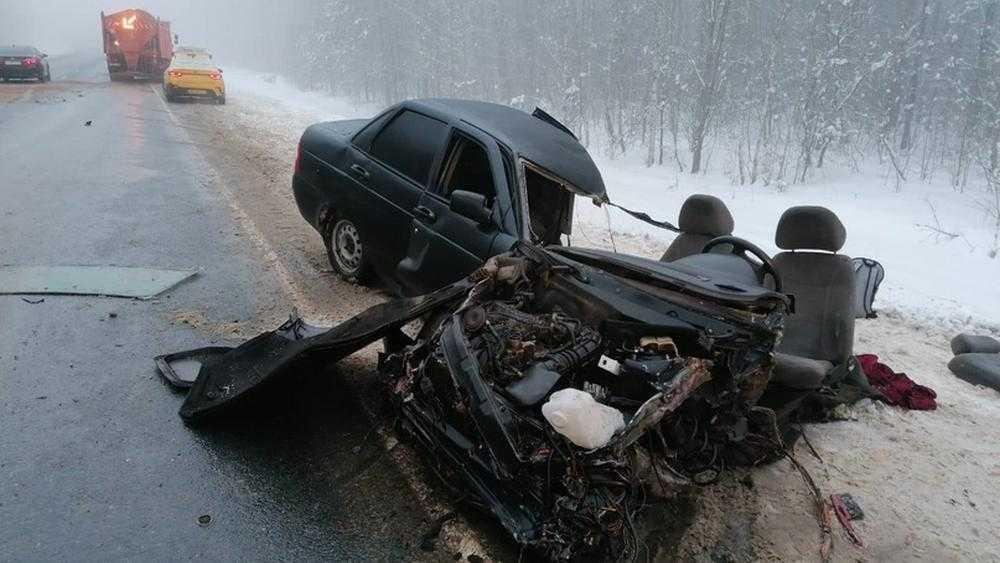 В Брянской области 20-летний гонщик устроил страшное ДТП