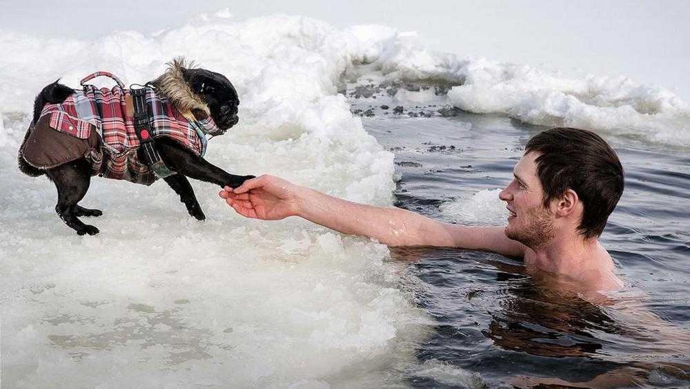 В Брянске Мутное озеро взбаламутила компания «отмороженных»