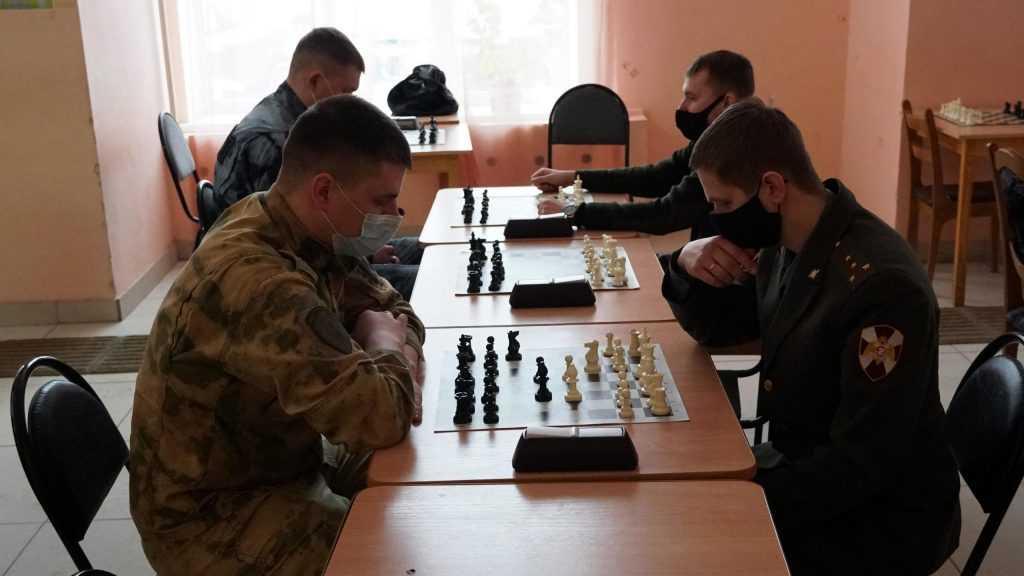 В управлении Росгвардии по Брянской области определились лучшие шахматисты