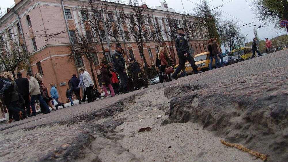 Снимки рассказали, какими были дороги Брянска 14 лет назад