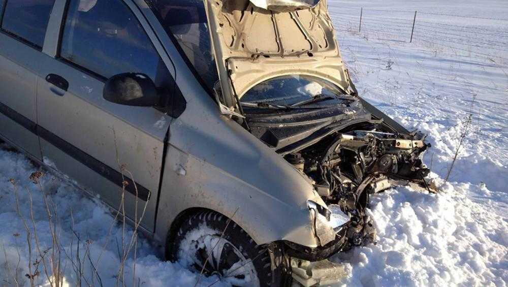 В Почепском районе в ДТП пострадали автомобилистка и 4-летняя девочка