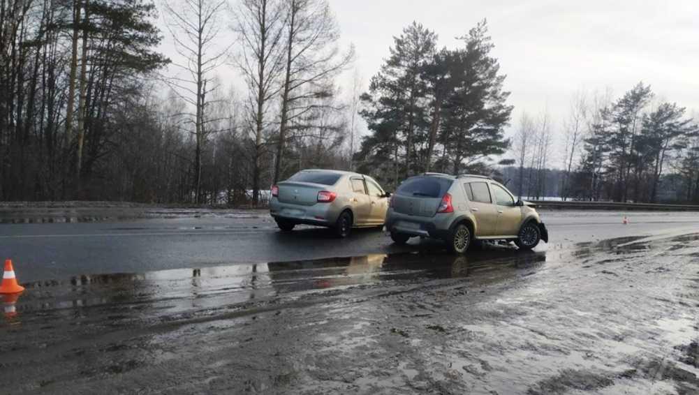 Под Выгоничами автомобилистка устроила ДТП и ранила двоих человек