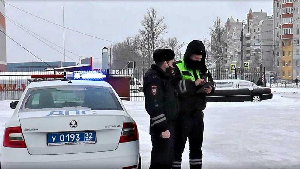В Брянске сотрудники ДПС задержали ограбившего пенсионеров рецидивиста