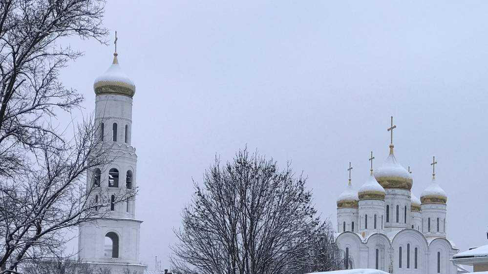 Белый от снега и похорошевший Брянск сняли с высоты птичьего полета