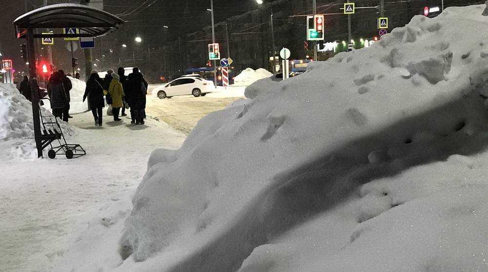 Брянская область пережила самую холодную ночь зимы