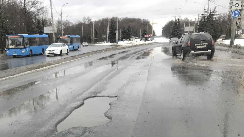 В Брянске часть Московского проспекта в 2021 году придется отремонтировать