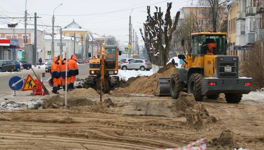 В Брянске на улице Ульянова построят двухкилометровую ливневую канализацию