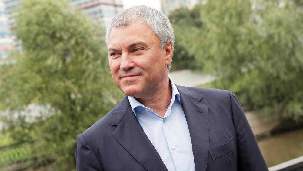 Председателю Госдумы России Вячеславу Володину исполнилось 57 лет