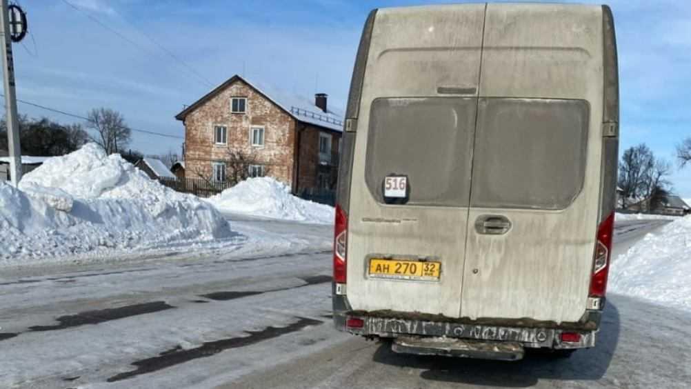 Злобный кучер заморозил пассажиров в брянской маршрутке