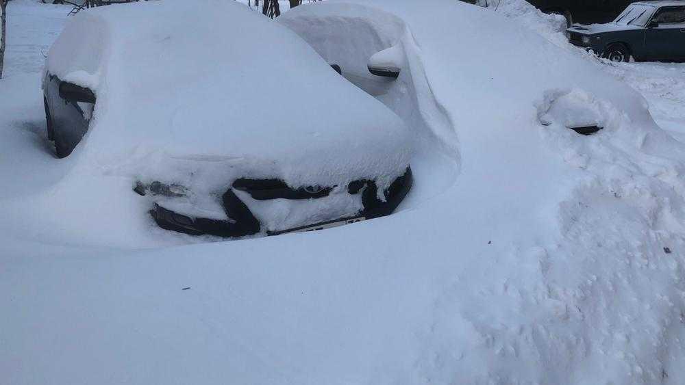 В Брянске автомобилисты втянулись в снежные конфликты