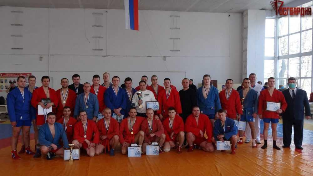 Брянские росгвардейцы стали призерами чемпионата по самбо