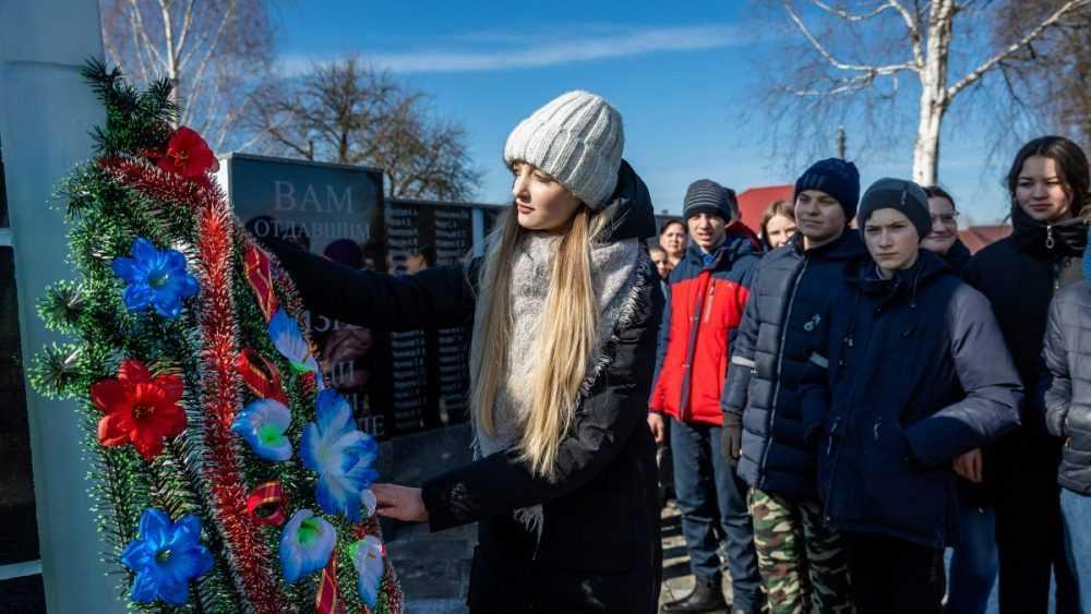 В Белоруссии навели порядок на месте захоронения брянских бойцов