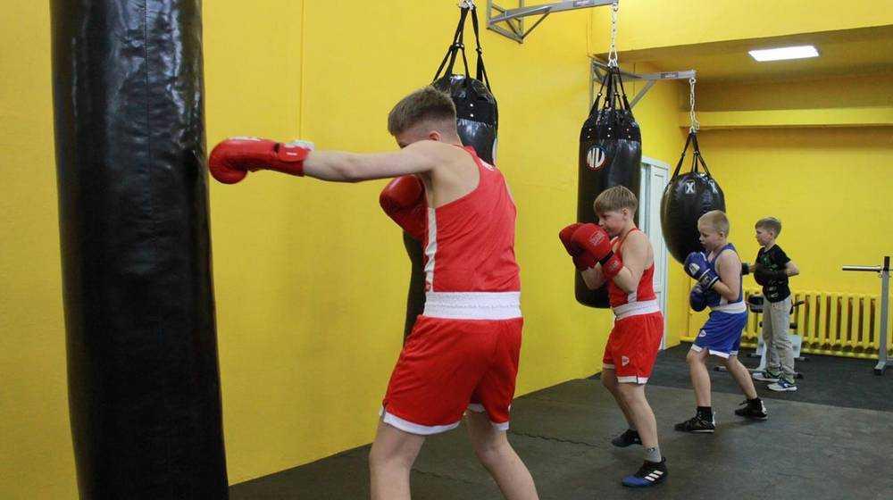 По инициативе Николая Валуева в Климово открыли секцию бокса