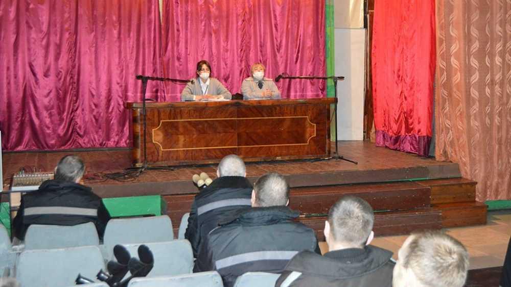 Осужденные брянской ИК-1 встретились с представителем пенсионного фонда