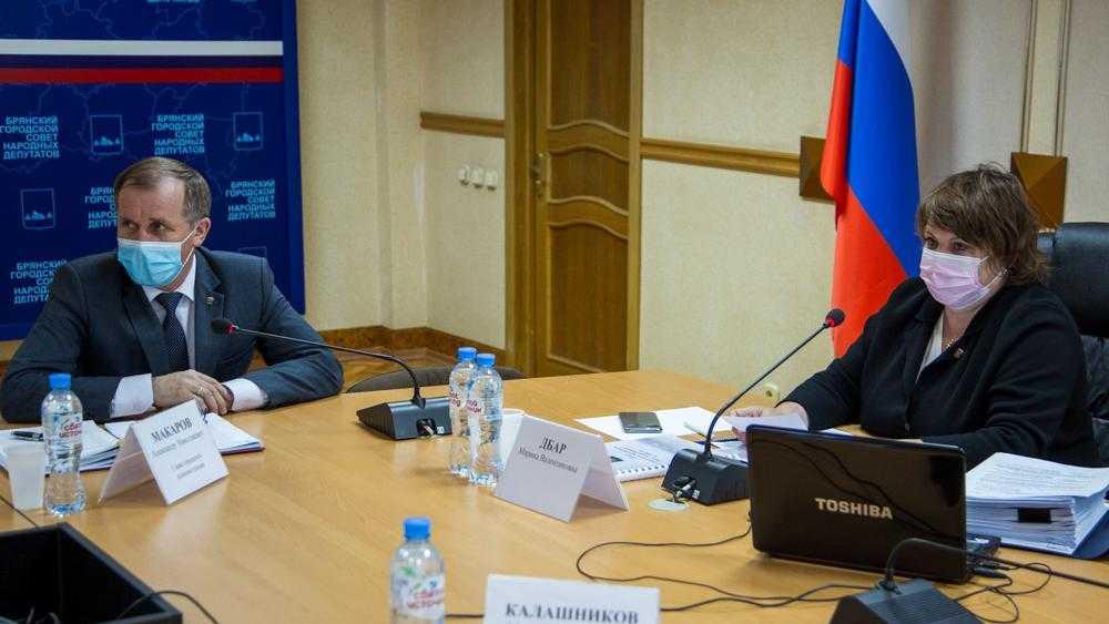 Мэр Брянска Макаров и глава города Дбар 31 марта отчитаются перед депутатами