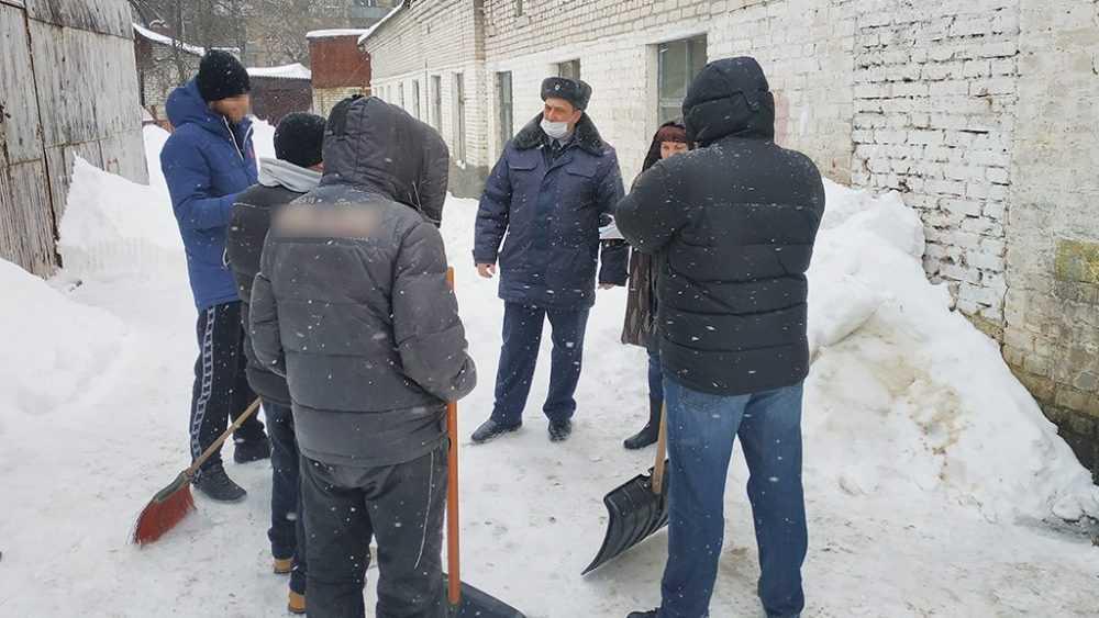 В Брянске проверили условия исполнения наказаний осужденными к обязательным работам