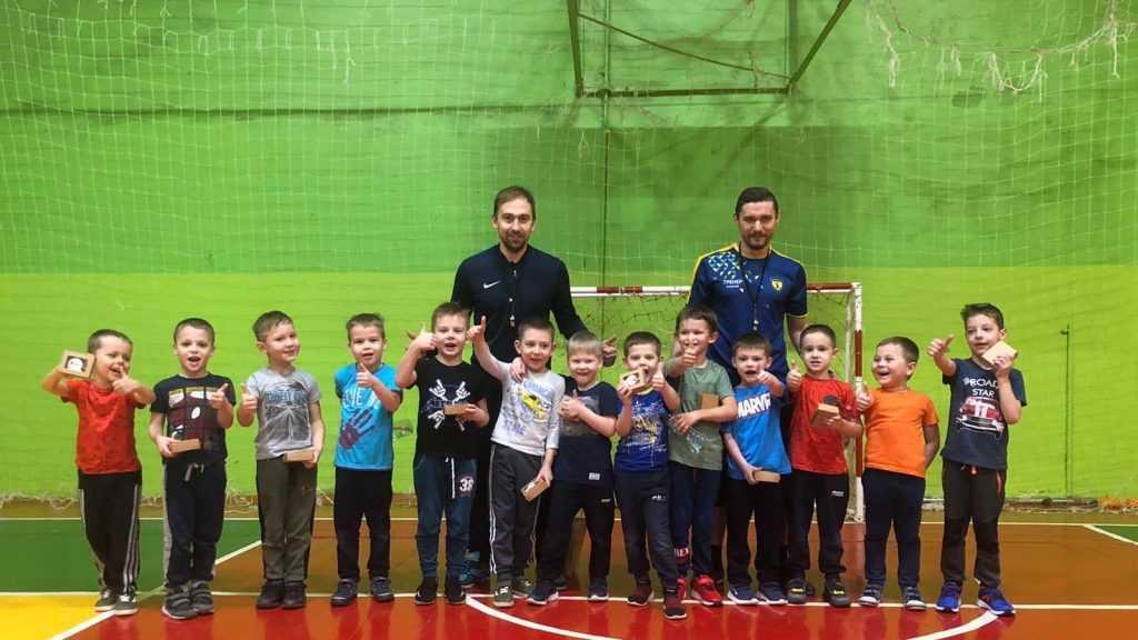«Мой бизнес» помогает брянскому детскому футболу