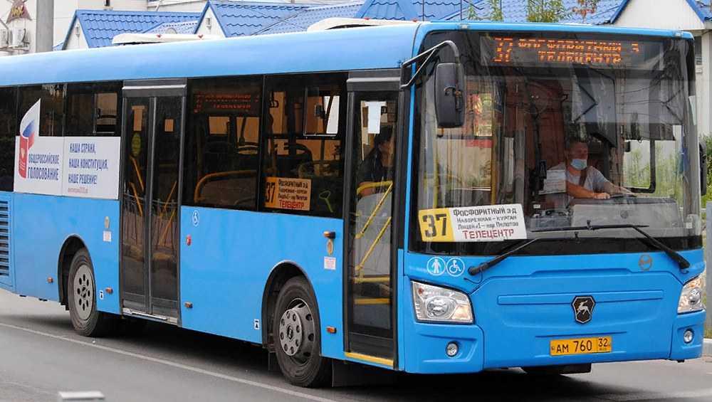 В Брянске изменится график движения автобусов на маршрутах № 37 и № 25