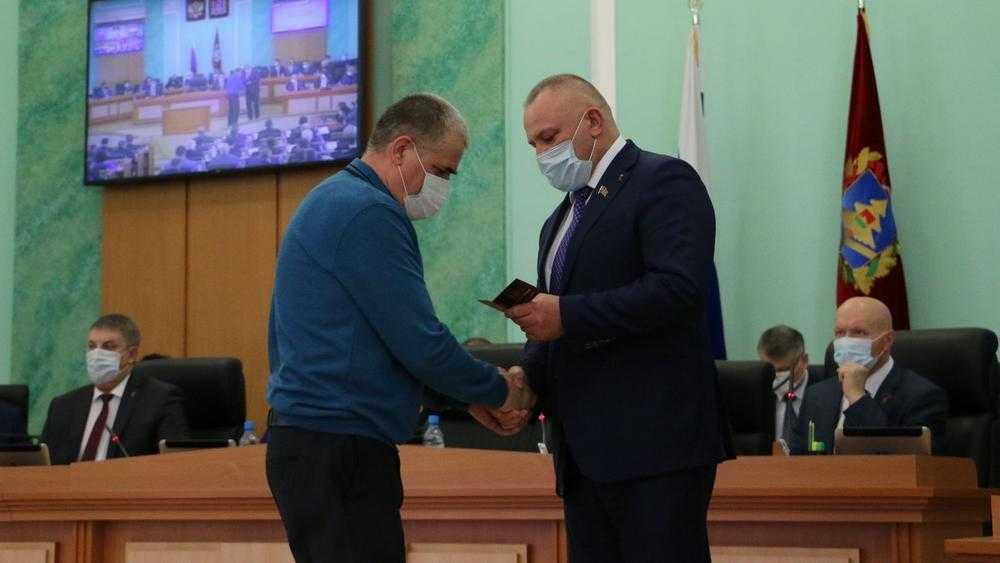 Брянская дума наградила почетными званиями работников ЖКХ