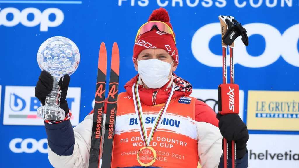 Брянский лыжник Большунов стал обладателем Хрустального глобуса