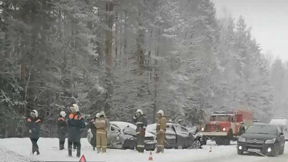 Под Брянском на Киевской трассе случилось серьезное ДТП