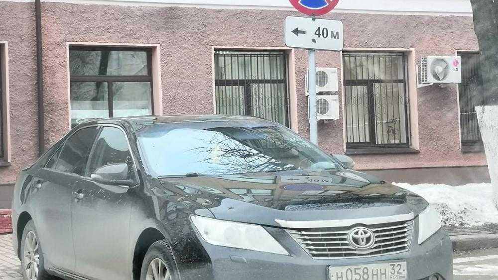 В Брянске мстители обвинили в автохамстве водителя администрации