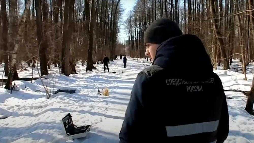 В Брянске следователи опубликовали видео с места сожжения младенца в лесу