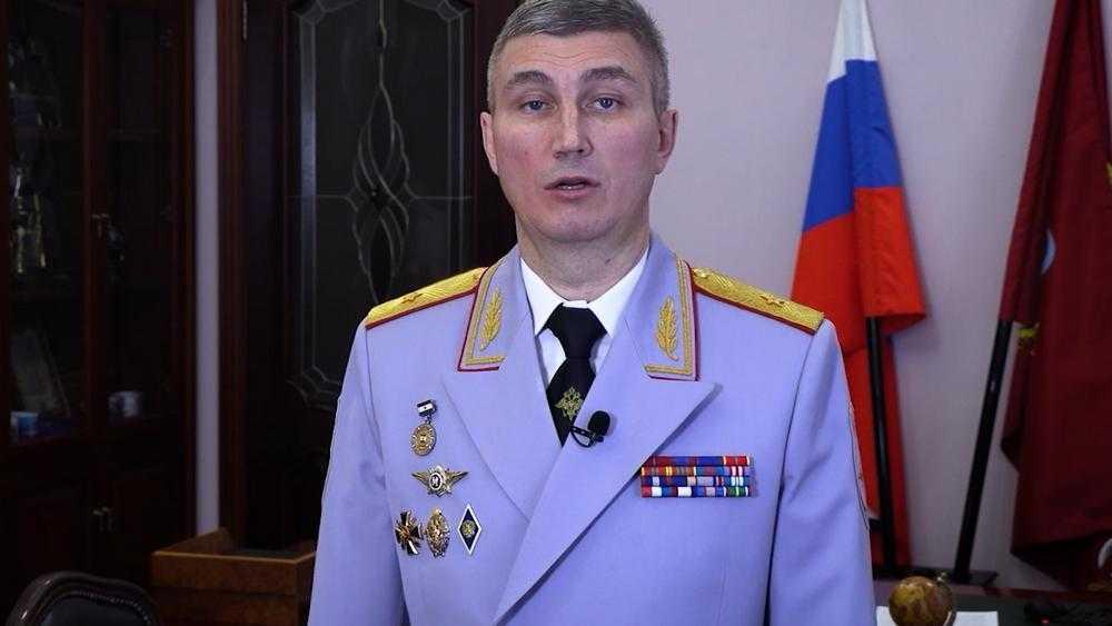 Глава УМВД по Брянской области Толкунов поздравил женщин с 8 Марта