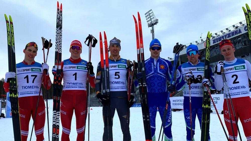 Брянский лыжник Большунов выиграл спринт на чемпионате России в Тюмени