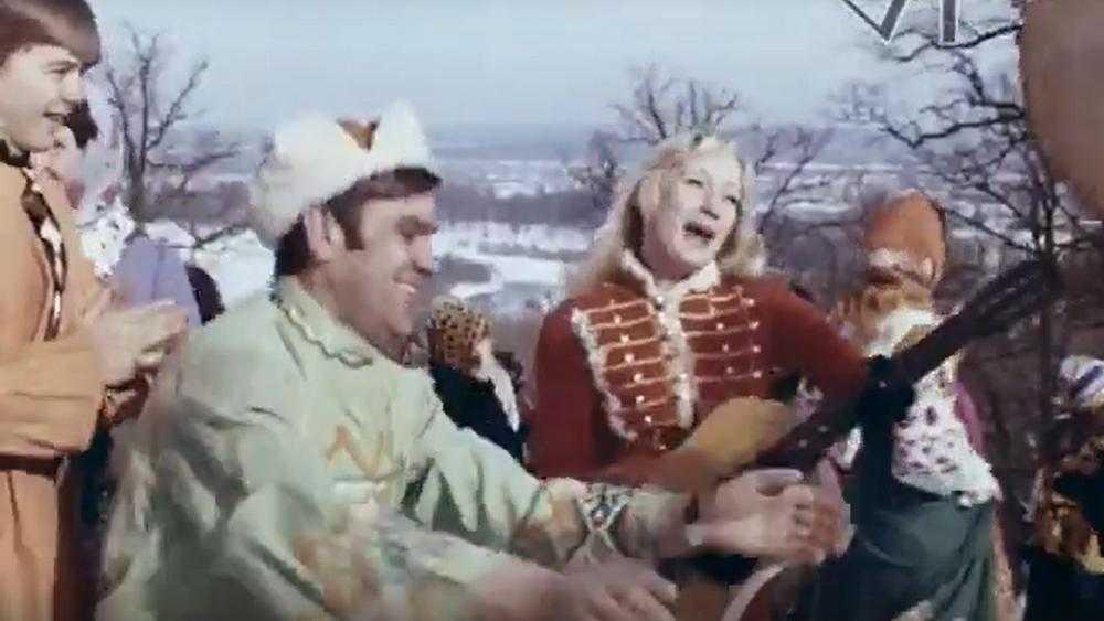 В Брянске представили киноленту о праздновании Масленицы в 1978 году