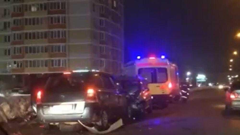 В Брянске по вине пьяного водителя мужчина лишился части скальпа