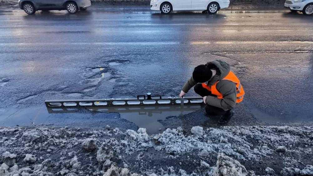 В Брянске ремонт дороги на Речной улице превратился в комедию абсурда