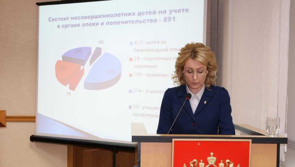 В Брянске насчитали 81 неблагополучную семью с 143 детьми
