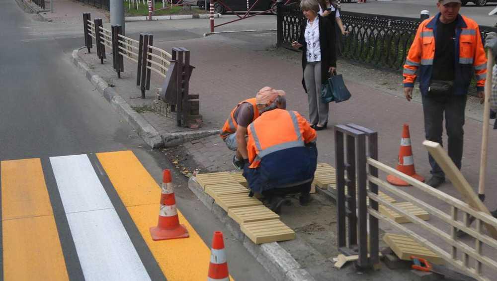 В Брянске обустроят 70 остановок общественного транспорта