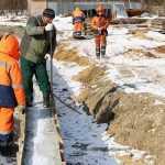 В Брянске для новой дороги завезли более миллиона кубометров песка