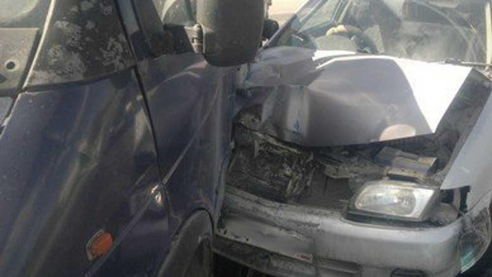 Под Клинцами водитель «Газели» спровоцировал столкновение с легковушкой